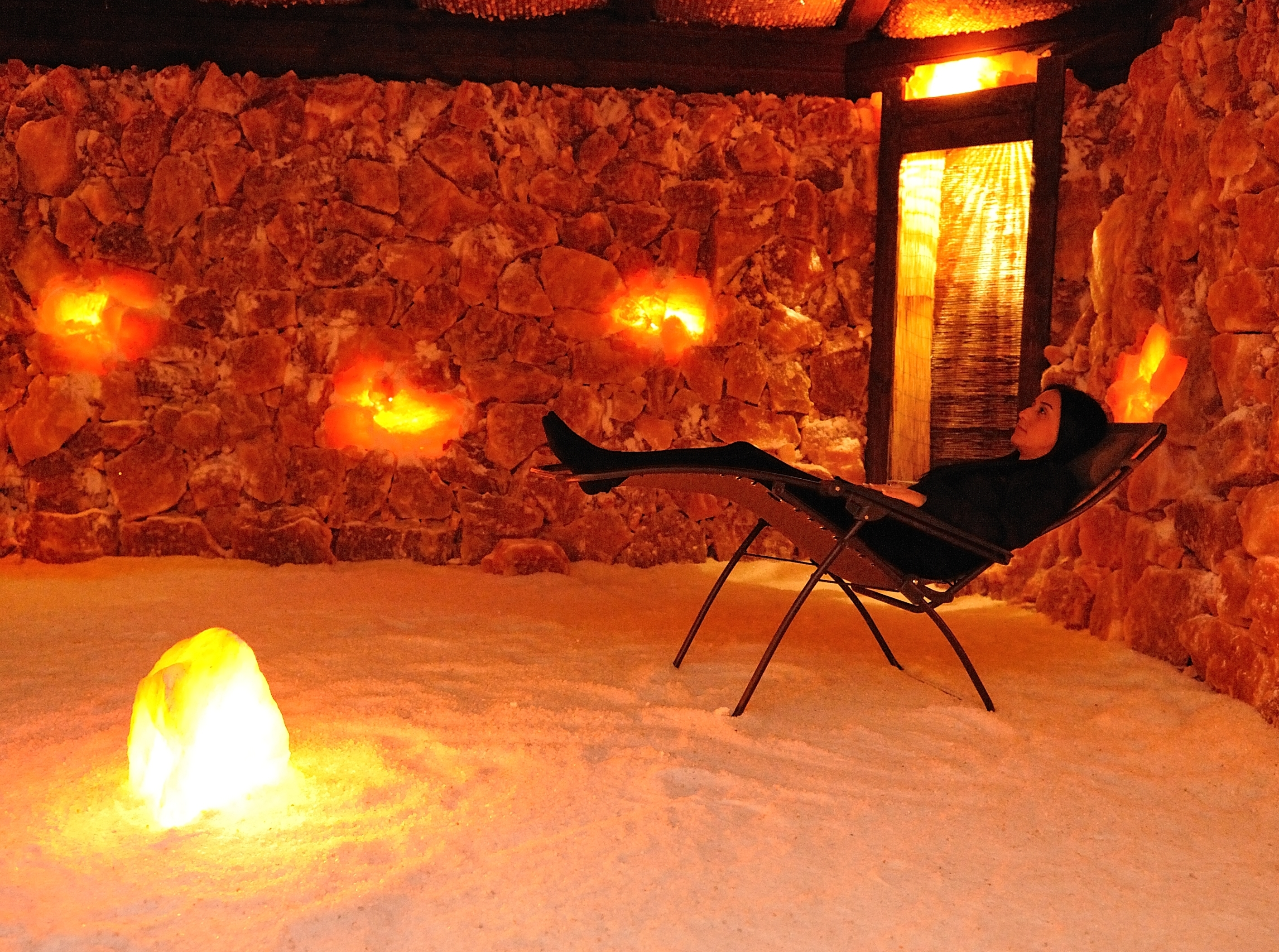 Salt Therapy & Foot Massage